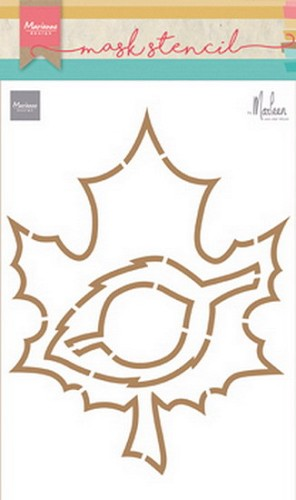 Marianne Design - Craft Stencil - Autumn Leaves by Marleen