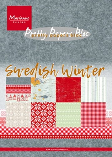 Marianne Design - Pretty Paper Bloc - Swedish Winter