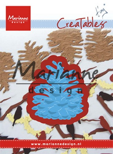 Marianne Design - Die - Creatables - Tiny`s Pinecone