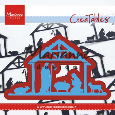 Marianne Design - Die - Creatables - Nativity Scene