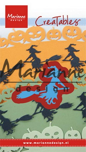 Marianne Design - Die - Creatables - Witch on Broomstick
