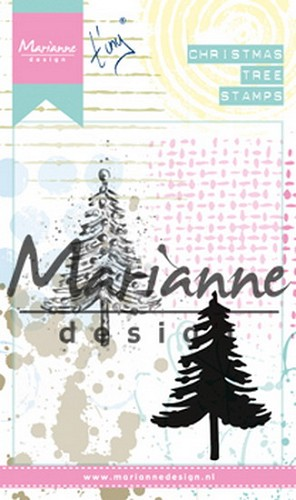 Marianne Design - Clingstamp - Tiny`s Christmas Tree