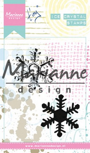 Marianne Design - Clingstamp - Tiny`s Ice Crystal