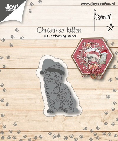 Joy!Crafts - Die - Franciens Kerst-Kitten
