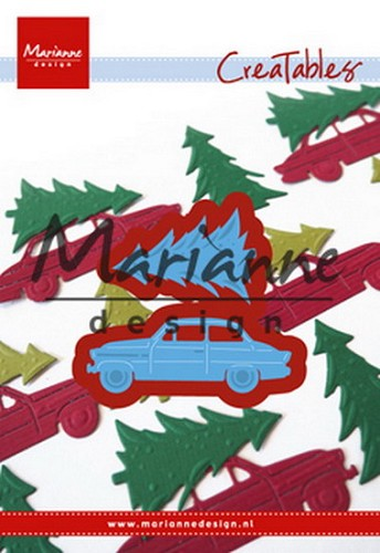 Marianne Design - Die - Creatables - Driving Home for Christmas