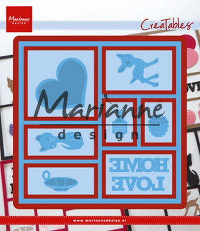 Marianne Design - Die - Creatables - Layout