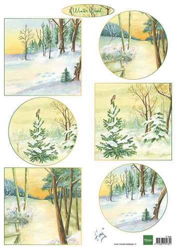 Marianne Design - Knipvel - Tiny`s Winter Wood