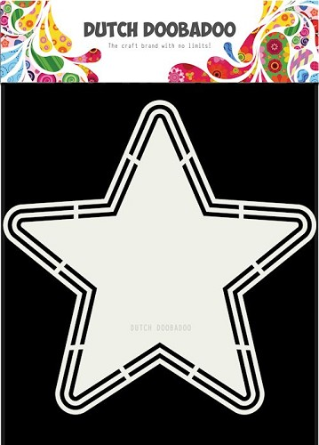 Dutch Doobadoo - Shape Art - Star A4