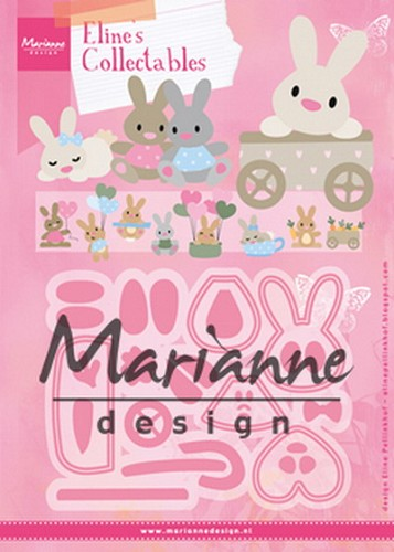 Marianne Design - Die - Collectables - Eline`s Baby Bunny