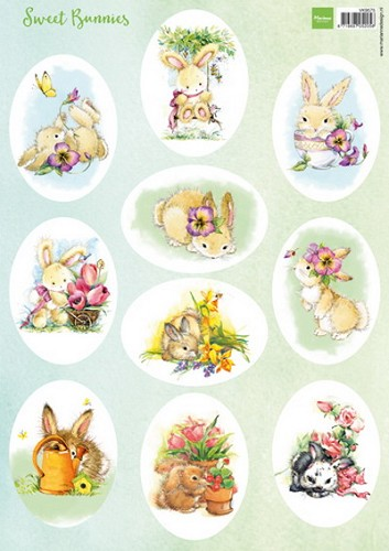 Marianne Design - Knipvel - Sweet Bunnies