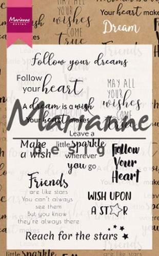 Marianne Design - Clearstamp - Dream Sentiments UK