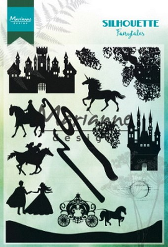 Marianne Design - Clearstamp - Silhouette Fairytales