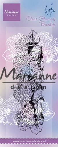 Marianne Design - Clearstamp - Tiny`s Border Hydrangea