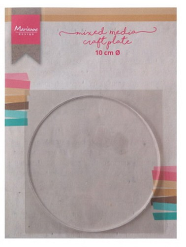 Marianne Design - Craft Plate - Cirkel 10 cm