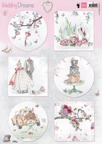 Marianne Design - Knipvel - Wedding Dreams