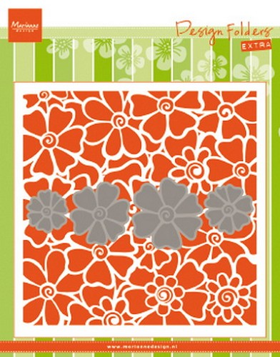 Marianne Design - Embossing - Design Folder Extra - Poppies