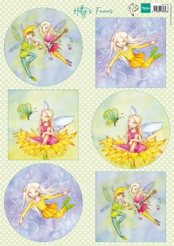 Marianne Design - Knipvel - Hetty`s Fairies