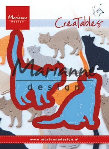 Marianne Design - Die - Creatables - Tiny`s Cats