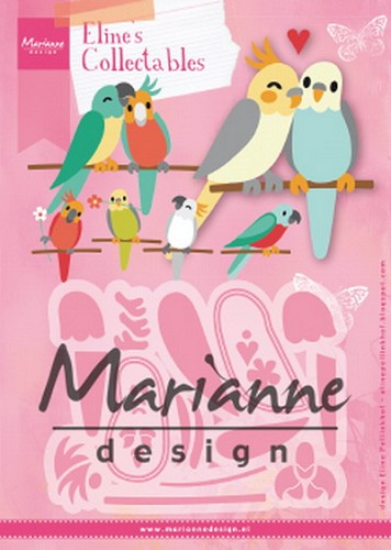 Marianne Design - Die - Collectables - Eline`s Birds