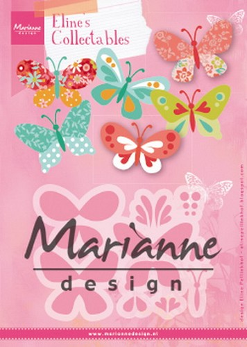 Marianne Design - Die - Collectables - Eline`s Butterflies