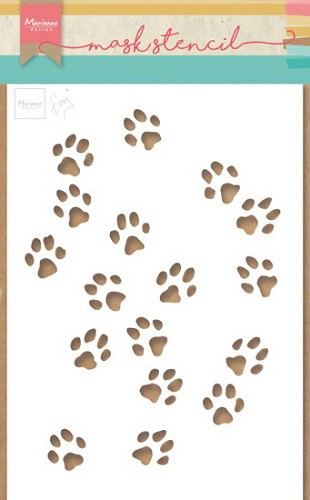 Marianne Design - Craft Stencil - Tiny`s Cat Paws