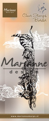 Marianne Design - Clearstamp - Tiny`s Border Kittens