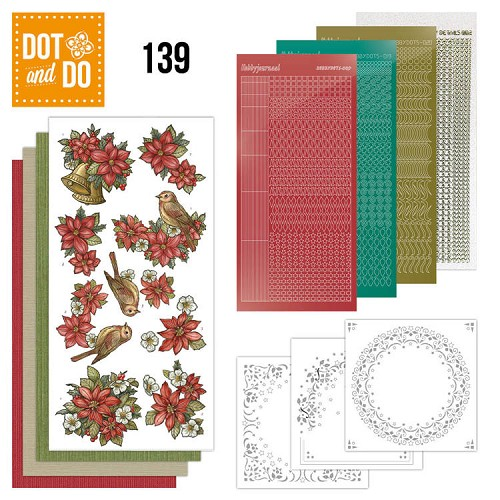 Dot en Do 139 Poinsettia Christmas