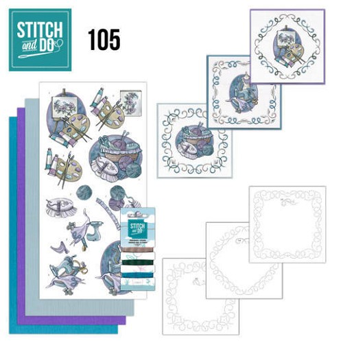 Card Deco - Stitch and Do - Borduurset  105 Crafting