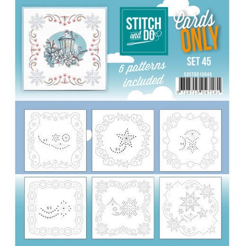 Card Deco - Stitch & Do - Cards only - Set 45