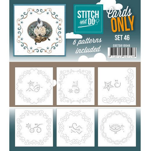 Card Deco - Stitch & Do - Cards only - Set 46