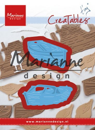 Marianne Design - Die - Creatables - Tiny`s Boats