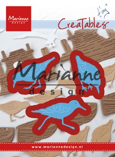 Marianne Design - Die - Creatables - Tiny`s Sandpipers