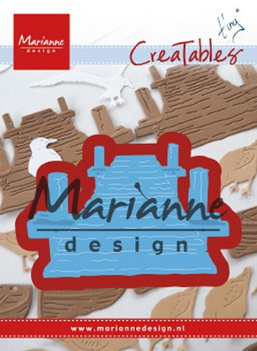 Marianne Design - Die - Creatables - Tiny's Beach Jetty