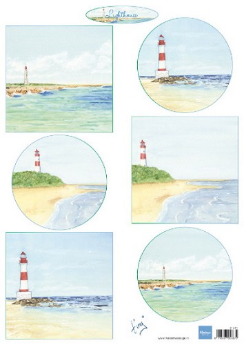 Marianne Design - Knipvel - Tiny`s Lighthouses