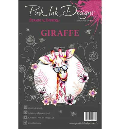 Pink Ink Design - Clearstamp - Giraffe