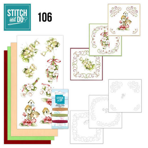 Card Deco - Stitch and Do - Borduurset  106 Crafting