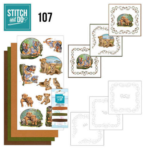 Card Deco - Stitch and Do - Borduurset  107 Crafting