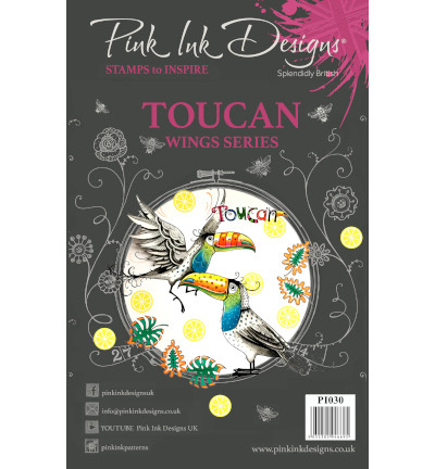 Pink Ink Design - Clearstamp - Toucan