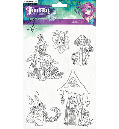 Studio Light - Clearstamp - Fantasy Collection - FC376