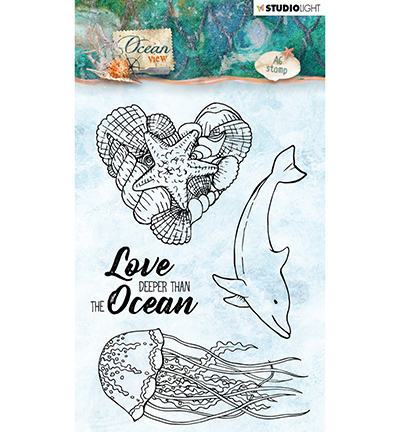 Studio Light - Clearstamp - Ocean View - OV368