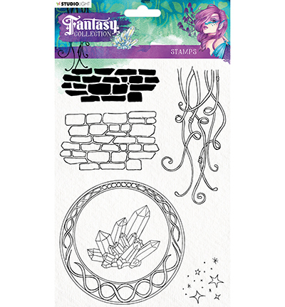 Studio Light - Clearstamp - Fantasy Collection - FC377