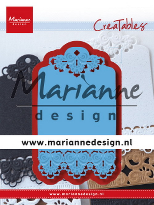 Marianne Design - Die - Creatables - Brocante Label