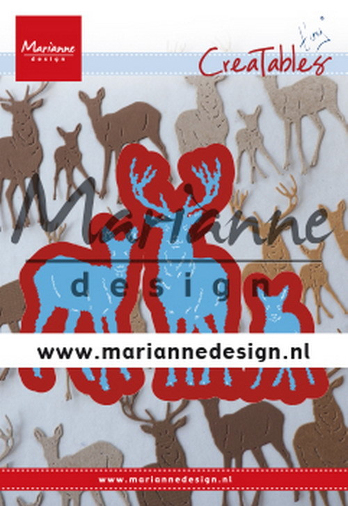 Marianne Design - Die - Creatables - Tiny's Deer Family