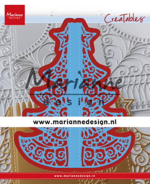 Marianne Design - Die - Creatables - Gate Folding dies Christmas