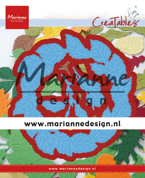Marianne Design - Die - Creatables - Tiny's Leaves Wreath