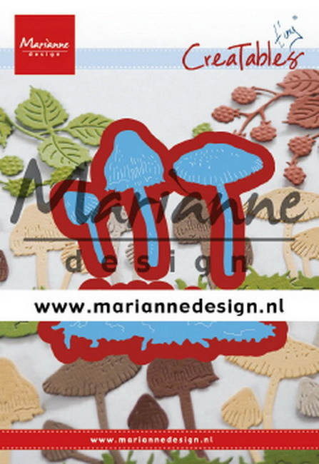 Marianne Design - Die - Creatables - Tiny's Mushrooms