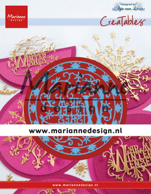 Marianne Design - Die - Creatables - Anja's Warm Winter Wishes
