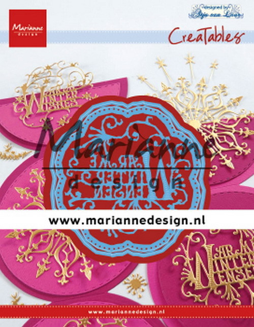 Marianne Design - Die - Creatables - Anja's Warme Winter wensen