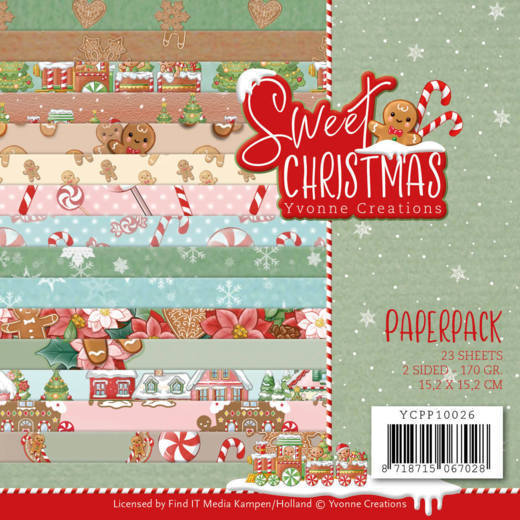 Yvonne Creations - Paperpack - Sweet Christmas