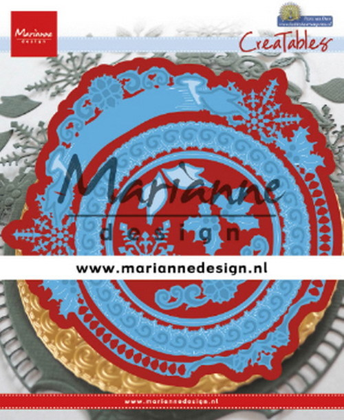 Marianne Design - Die - Creatables - Petra's Winter Circle